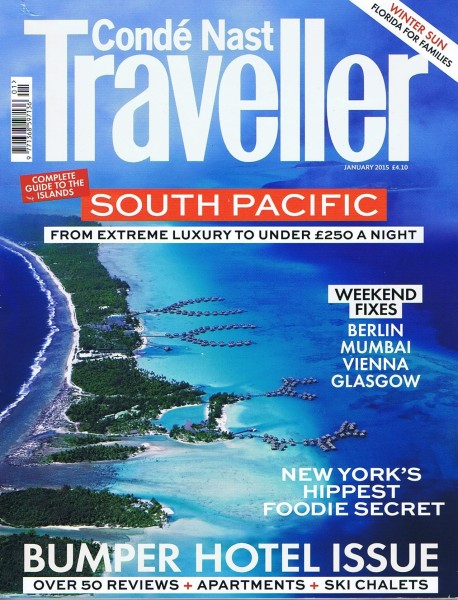 Conde Nast Traveller January 2015