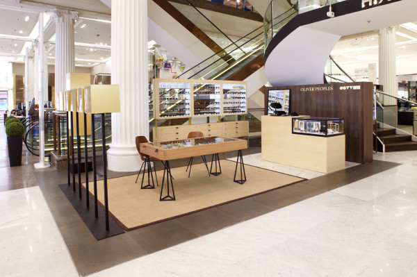 Oliver Peoples Pop-Up In Selfridges