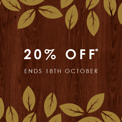 20% Off – Limited Time Only