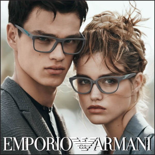 Introducing The NEW Emporio Armani Spring Summer 16 Eyewear Campaign