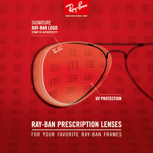 New Ray-Ban prescription lenses now available