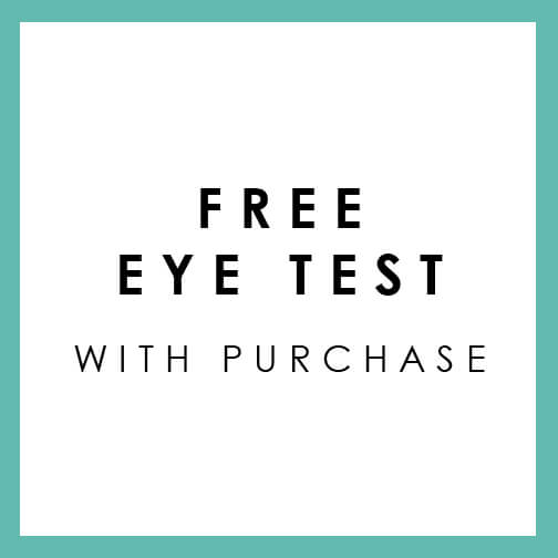 Free Eye Test With Purchase