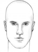 rectangular face shape