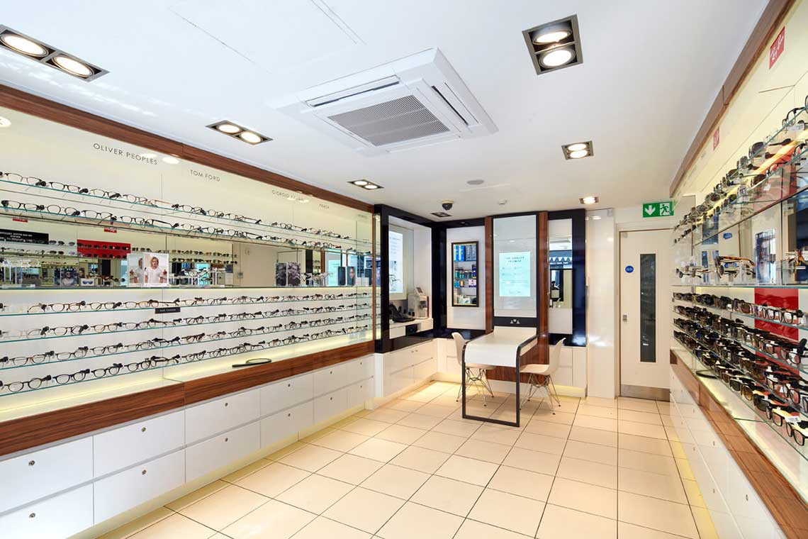 19a822bf3e26 David Clulow Opticians Soho is right in the middle of theatreland
