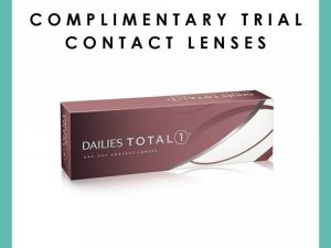 Contact Lenses – Complimentary Trial