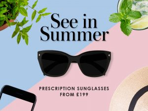 See in Summer with Prescription Sunglasses