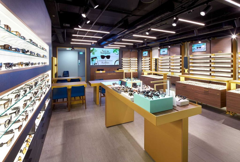 Cabot Place Opticians – Canary Wharf – London