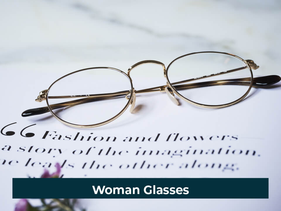 Woman Glasses