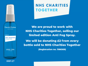 NHS Charities Together – Limited Edition Anti Fog Spray