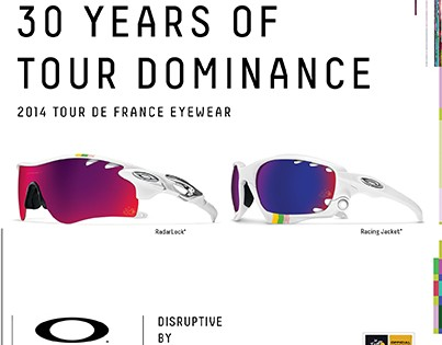 Oakley's Tour de France Eyewear Collection
