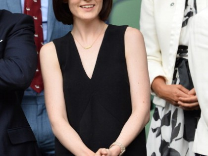 Spotted…Michelle Dockery wearing Burberry eyewear at Wimbledon
