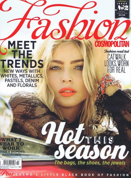 Cosmopolitan Spring/Summer Fashion June 2014