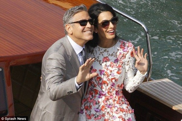George Clooney opts for Persol